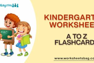A to Z Flashcards Worksheets Download PDF