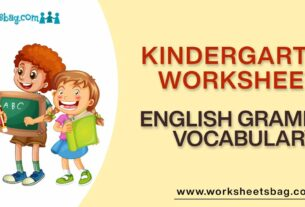 English Grammar Vocabulary Worksheets Download PDF