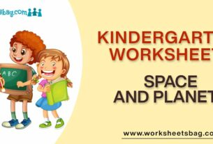 Space And Planets Worksheets Download PDF