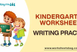 Writing Practice Worksheets Download PDF