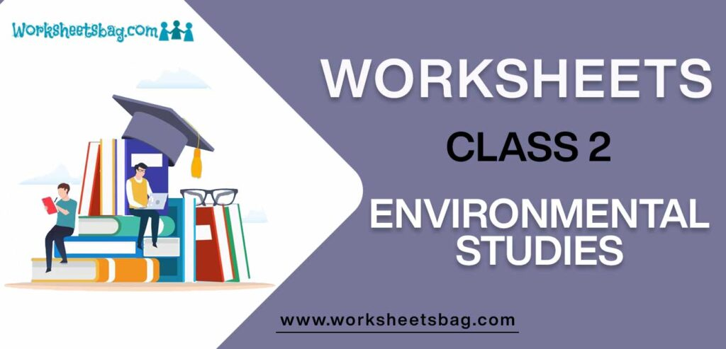 Worksheets For Class 2 evs