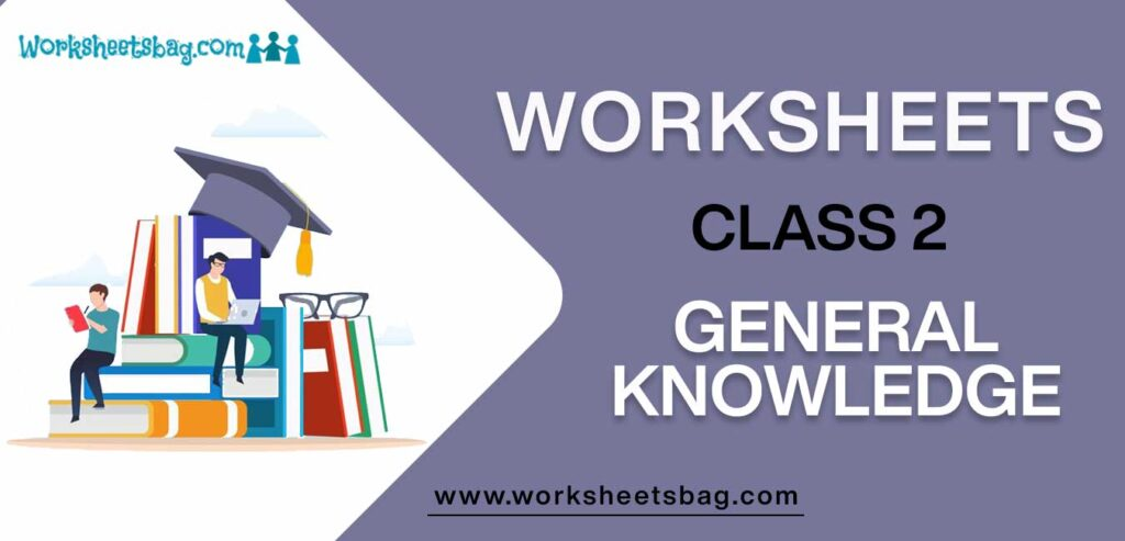 GK Worksheets For Class 2